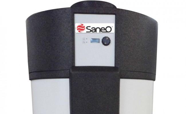 Calentador de agua de bajo consumo SANEO